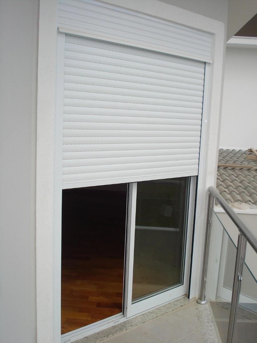 Janelas e portas com persiana integrada manual e - Persiana de aluminio ...